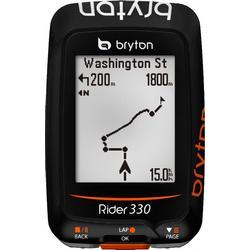 Bryton Rider 330 H GPS Fahrradcomputer + Herzfrequenzsensor (HRM)
