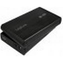 LogiLink 3,5 SATA Festplatten-Gehäuse, USB 3.0, schwarz