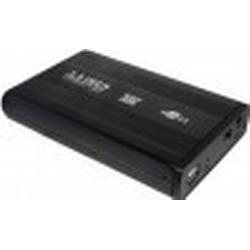 LogiLink 3,5 SATA Festplatten-Gehäuse, USB 2.0, schwarz