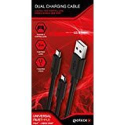 Joellenbeck DCCUNI/11/MU Dual Charging Ladekabel für PS4Xbox One