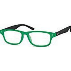 Montana Eyewear MR97J+2.00 Lesebrille aus Kunststoff, Farbe matt schwarz mit Softetui, 1 Stück