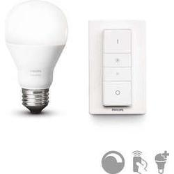 Philips Hue Wireless Dimming Kit 9.5 W A60, EEK A+, E27, komfortabel dimmen, ohne Installation, Standard Verpackung 8718696452523