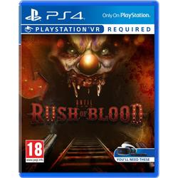 Until Dawn: Rush Of Blood VR PS4 USK: 16
