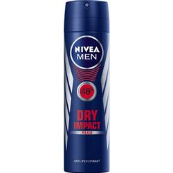 NIVEA MEN Dry Impact Plus Anti-Transpirant Spray, 150 ml