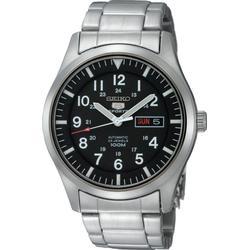 Seiko Herren/Armbanduhr XL Seiko 5 Sports Analog Automatik Edelstahl SNZG13K1
