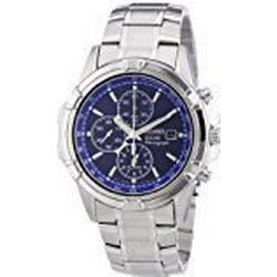 Seiko Herren/Armbanduhr XL Chronograph Quarz Edelstahl SSC141P1