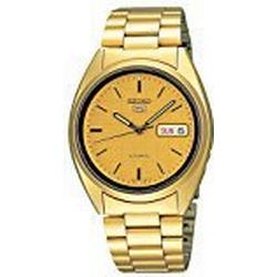 Seiko SNXL72 Dress Yellow gold toned/Yellow gold toned steel Ø37 mm