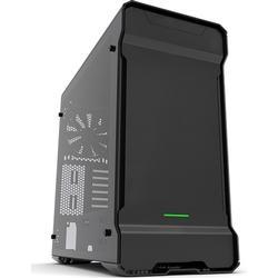 Phanteks Midi-Tower PC-Gehäuse Enthoo Evolv Schwarz 3 vorinstallierte Lüfter, Seitenfenster, Staub