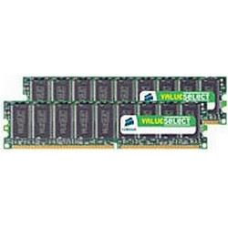 Corsair ValueSelect Dimm 4 GB Ddr2-800 Kit, Arbeitsspeicher, Vs4Gbkit800D2, ValueSelect