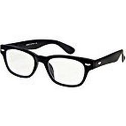I NEED YOU Lesebrille Woody / +3.50 Dioptrien / Schwarz, 1er Pack