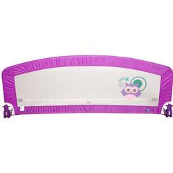 Happy Way Barrier Bed 150 Cm Owl Purple Rain