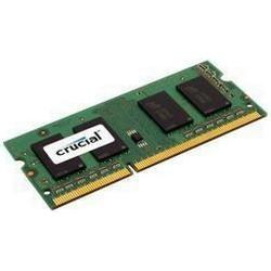 Crucial 4GB DDR3L 1600 MT/s Arbeitsspeicher ((PC3L/12800) SODIMM 204/Pin / CT51264BF160BJ)