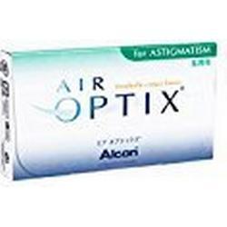 Alcon Air Optix For Astigmatism weich, 6 Stück / BC 8.7 mm / DIA 14.5 mm / CYL /0.75 / ACHSE 170 / + 0.5 Dioptrien