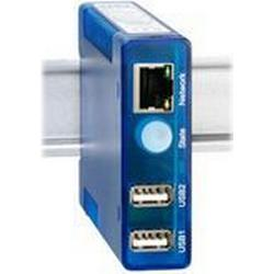 W&T USB-Server Industry Isochron, 2 unabhängige USB-Ports