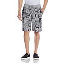 adidas Herren Bermuda Street Grp Shorts, Medium Grey Heather, M