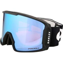 Oakley Line Miner Injected Man Google, Matte Black, L