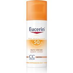 EUCERIN Sun CC Creme getönt mittel LSF 50+ 50 ml