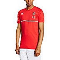 Canterbury England T/Shirt Men's, Baumwolle rot rot S