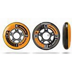 K2 Inline Rollenset Wheel 4/Pack, 90mm, 3053005.1.1