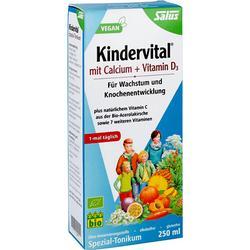 KINDERVITAL Bio mit Calcium+D3 Tonikum Salus 250 ml