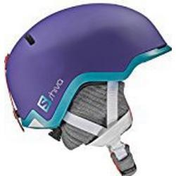 Salomon, Damen Freeride Ski/ und Snowboardhelm, EPS 4D, Gr. M, Kopfumfang 56,5/57,5 cm, SHIVA, Lila, L39123300