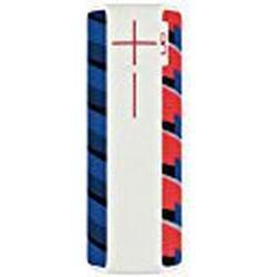UE BOOM 2 Lautsprecher (Bluetooth, Wasserdicht, Schlagfest) / Happy Hour rot/blau/weiß