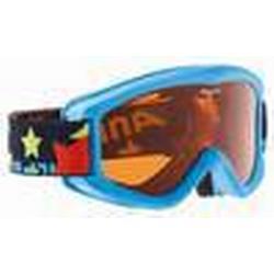 Alpina Carvy 2.0 Kinderskibrille (Farbe: 488 blau, Scheibe: SINGLEFLEX tint)