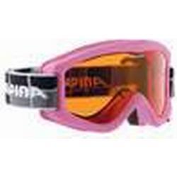 Alpina Carvy 2.0 Kinderskibrille (Farbe: 458 rose, Scheibe: SINGLEFLEX tint)