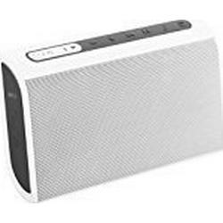 Nyne TT Universal Wiederaufladbarer Portabler Bluetooth Wireless Lautsprecher mit Integriertem Mikrofon / Weiß/Grau