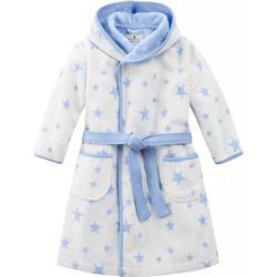 bellybutton Bademantel mit Gürtel und Sternen - stars light blue