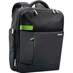 Leitz Laptoprucksack Complete Smart Traveller, für Laptops, Polyester, Diagonale: 39,62 cm, 31 x 15 x 40 cm, schwarz