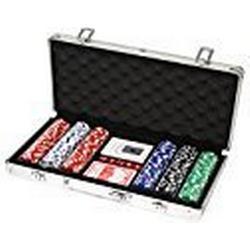 Huangguan MH161145 / Professionelles Poker/Set, schwarz