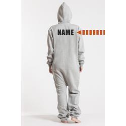 Comfy Grey, Back Nameprint