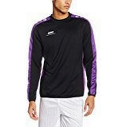 JAKO Herren Sweat Striker Sweatshirt, Schwarz/Lila, 3XL