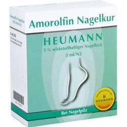 AMOROLFIN Nagelkur Heumann 5% wst.halt.Nagellack 5 ml