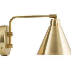 House Doctor Game Wandlampe - schwarz/weiss - ø 15 cm - Armlänge: 70 cm