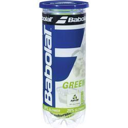 Babolat Green Tennisball im 3-Pack, Gelb