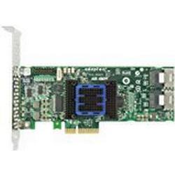 ADAPTEC RAID 6405E RoC Controller 6Gb/s SAS 2.0 PCIe 4port intern JBOD 0 1 10 1E mit mSAS/Kabel Kit
