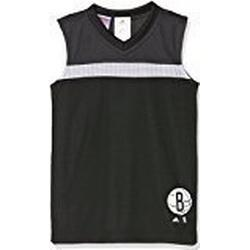 adidas Jungen Nba Brooklyn Nets Winter Hoops Reversibel Trikot, Black, 176