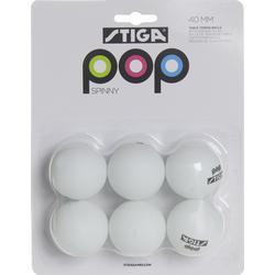 STIGA Bälle Tischtennis POP Spinny
