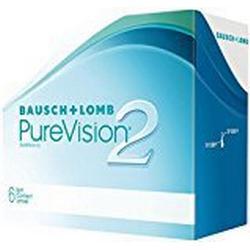 PureVision2 HD Monatslinsen weich, 6 Stck / BC 8.60 mm / DIA 14.00 mm / /00.75 Dioptrien
