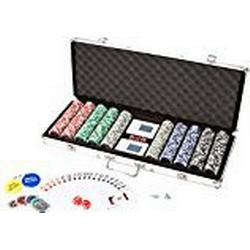 Ultrasport Pokerkoffer mit 500 Chips