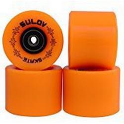 SULOV Penny Board Räder, Neon Orange, 60 x 45mm
