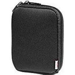 Hama Festplattentasche (für externe Festplatten bis 2,5 Zoll, 6,35 cm, Neopren) auch als Kameratasche für Digitalkameras geeignet, spritzwassergeschützt, schwarz