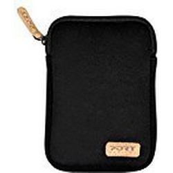 Port 140395 HDD 2,5 TORINO Sleeve Festplattentaschen 16,7 x 11,4 x 2,8 cm schwarz