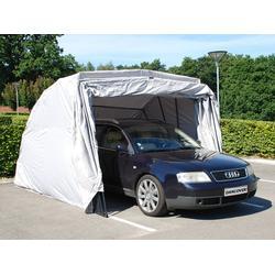 Faltgarage (Auto), 2,8x6,24x2,3m, Grau
