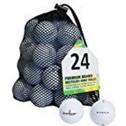Second Chance Golfbälle 24 Dunlop Qualitäts, weiß, VAL/24/MESH/DUN