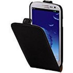 Hama Flip Case für Samsung Galaxy S3 Tasche, Maßgefertigte Schutzhülle mit Magnetverschluss schwarz