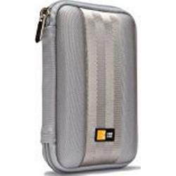 Case Logic QHDC101G Portable Harddrive Case 6,3 cm (2,5 Zoll) für externe Festplatten Grau
