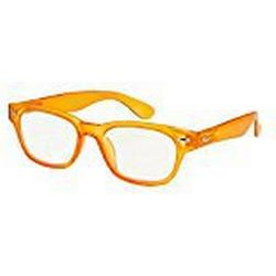I NEED YOU Lesebrille Woody Limited / +2.50 Dioptrien / Orange, 1er Pack